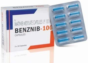 imatinib mesylate capsules 100mg