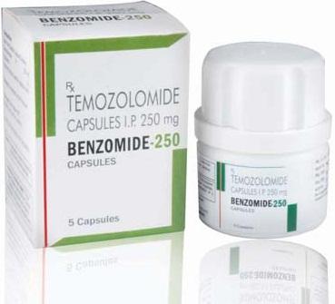 temozolomide capsules 250