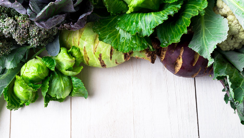 Diet for cancer patients: Do cruciferous vegetables fight against stomach cancer?