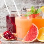 Pomegranate and citrus juice to prevent colorectal cancer