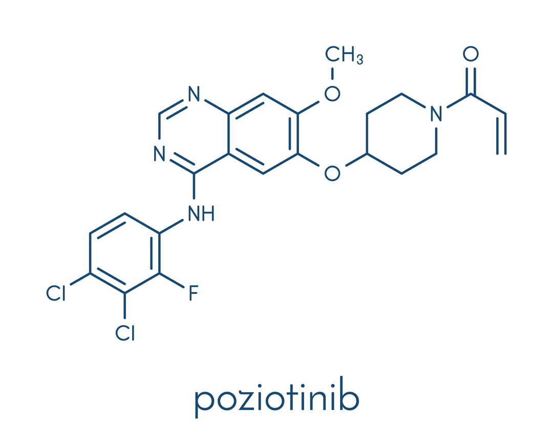 Poziotinib found to be valuable to treat mutated NSCLC